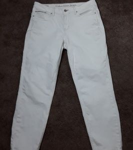 Calvin Klein Womens Skinny Ankle Crop Size12